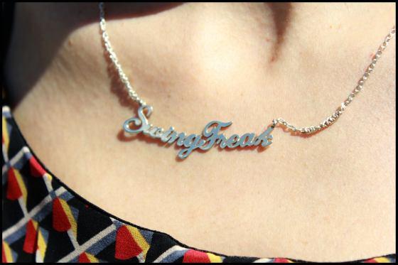 collar personalizado para Swing Feak! sólo hay uno :-)