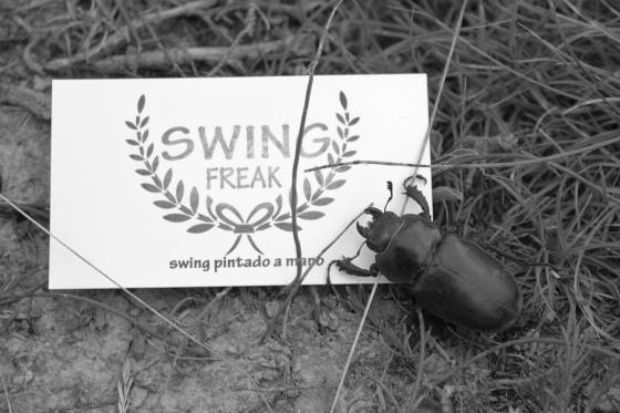 El Sr. Escarabajo y Swing Freak! que susto nos dio :-)